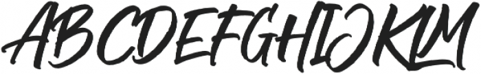 The Historia Solid otf (400) Font UPPERCASE
