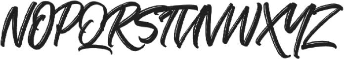 The Historia otf (400) Font UPPERCASE