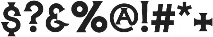 The Hound & Quail Medium otf (500) Font OTHER CHARS