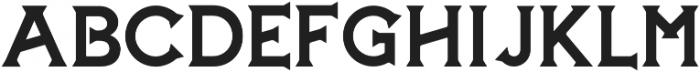 The Hound & Quail Medium otf (500) Font UPPERCASE