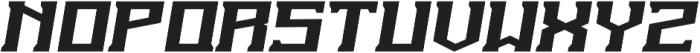 The Insurgent Italic otf (400) Font UPPERCASE