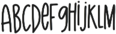 The Island otf (400) Font LOWERCASE
