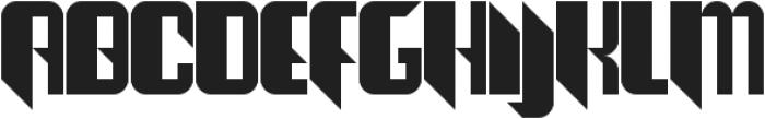 The Joy Facade ttf (400) Font UPPERCASE