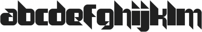The Joy Facade ttf (400) Font LOWERCASE