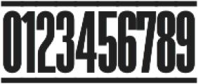 The Juke Box Regular otf (400) Font OTHER CHARS