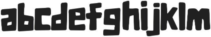 The Jungle otf (400) Font LOWERCASE