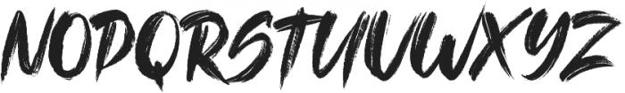 The Kallman otf (400) Font UPPERCASE