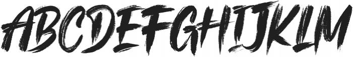 The Kallman otf (400) Font LOWERCASE