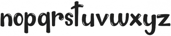 The King otf (400) Font LOWERCASE