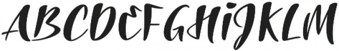 The Laughing Wolf otf (400) Font UPPERCASE