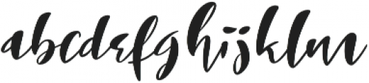 The Laughing Wolf otf (400) Font LOWERCASE