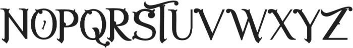 The Luxury otf (400) Font UPPERCASE