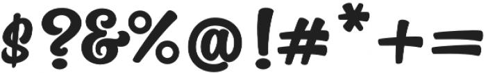 The Macksen Regular otf (400) Font OTHER CHARS