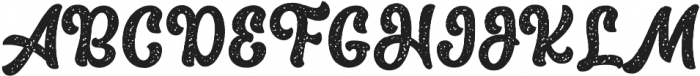 The Macksen Textured otf (400) Font UPPERCASE