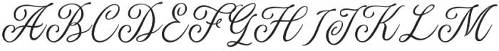 The Majority otf (400) Font UPPERCASE