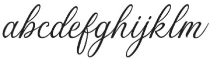 The Majority otf (400) Font LOWERCASE