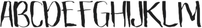 The Mistie otf (400) Font UPPERCASE