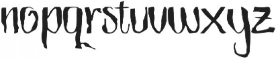The Mistie otf (400) Font LOWERCASE