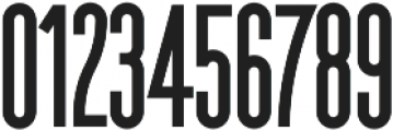 The National Bold otf (700) Font OTHER CHARS
