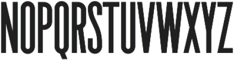 The National Bold otf (700) Font LOWERCASE