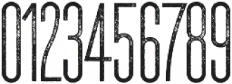 The National Regular - Aged otf (400) Font OTHER CHARS