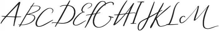 The Nicco otf (400) Font UPPERCASE
