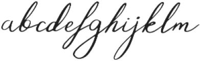 The Nicco otf (400) Font LOWERCASE