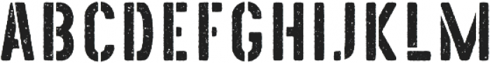 The Old Navy Grunge otf (400) Font LOWERCASE