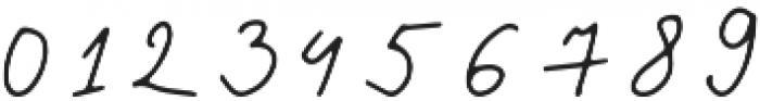 The Pamele otf (400) Font OTHER CHARS
