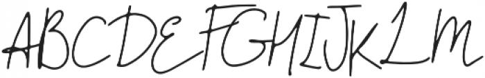 The Pamele otf (400) Font UPPERCASE