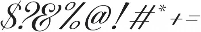 The Postgates otf (400) Font OTHER CHARS