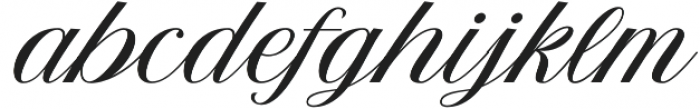The Postgates otf (400) Font LOWERCASE