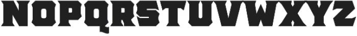 The Pretender Bold Serif otf (700) Font UPPERCASE