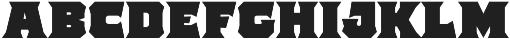 The Pretender Bold Serif otf (700) Font LOWERCASE