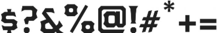 The Pretender Light Serif otf (300) Font OTHER CHARS