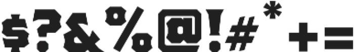 The Pretender Medium Serif otf (500) Font OTHER CHARS