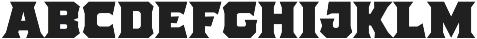 The Pretender Medium Serif otf (500) Font LOWERCASE