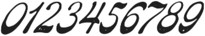 The Pretender Script Pressed otf (400) Font OTHER CHARS