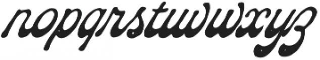 The Pretender Script Pressed otf (400) Font LOWERCASE
