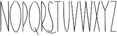 The Ramble otf (400) Font UPPERCASE