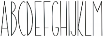 The Ramble otf (400) Font LOWERCASE