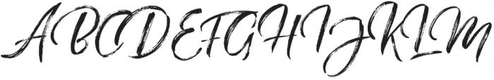 The Redlight Stylistic otf (300) Font UPPERCASE