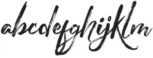 The Redlight Stylistic otf (300) Font LOWERCASE