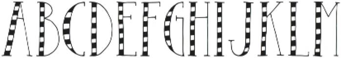 The Right Stuff Condensed Light otf (300) Font UPPERCASE