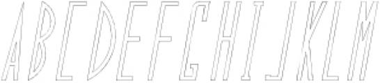 The Ronnur Alternate 3 otf (400) Font UPPERCASE