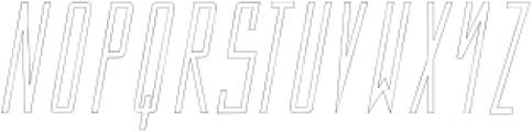 The Ronnur Alternate 3 otf (400) Font LOWERCASE