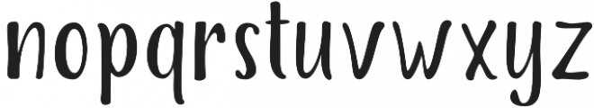 The Salvador Condensed otf (400) Font LOWERCASE