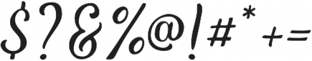 The Salvador Script otf (400) Font OTHER CHARS