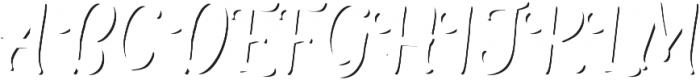 The Salvador ScriptShadow otf (400) Font UPPERCASE