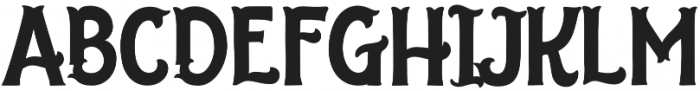 The Salvador Serif otf (400) Font UPPERCASE